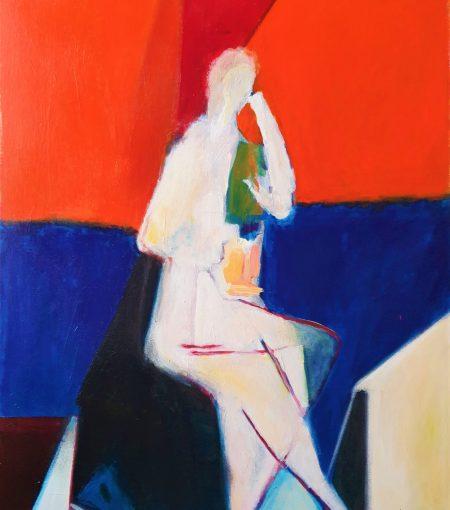 osserian Geairon Tours, Artiste, étudiant, student, art, autodidacte, peinture, huile, acrylique, cubisme, exposition picasso, braque, color field, bleu, jaune, blanc, noir, rose, peinture